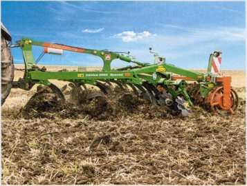 агрегат с обратным уплотнением почвы