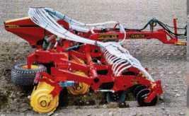 BioDrill с прикатывающими колёсами и загортачами