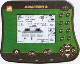 Блок управления всеми важными функциями на Cirrus 03AMATRON 3