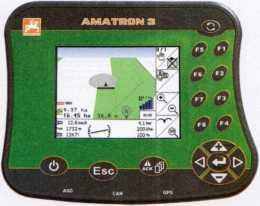 Бортовой компьютер с функцией переключения секций GPS-Switch