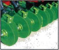 Дисковые сошники сеялки 3/410 фирмы UNIA