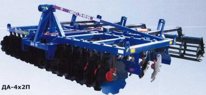 Дисковый агрегат ДА-4х2П
