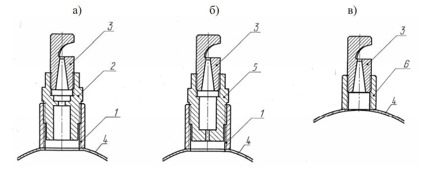 Дождеобразующие устройства, рекомендуемые специалистами ВНИИ «Радуга» для установки на ДМ «Фрегат»