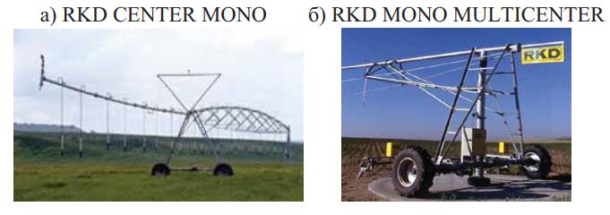 дождевальные машины кругового действия RKD MONO