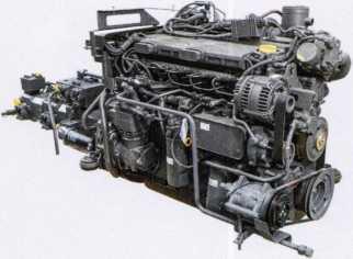 двигатель опрыскивателя Pantera 4502