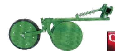 Двухдисковые сошники (QUICK XL) с агрегатом