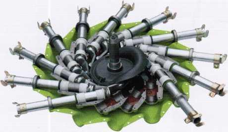 Герметично закрытое роторное колесо PROFIX валкоукладчика LINER