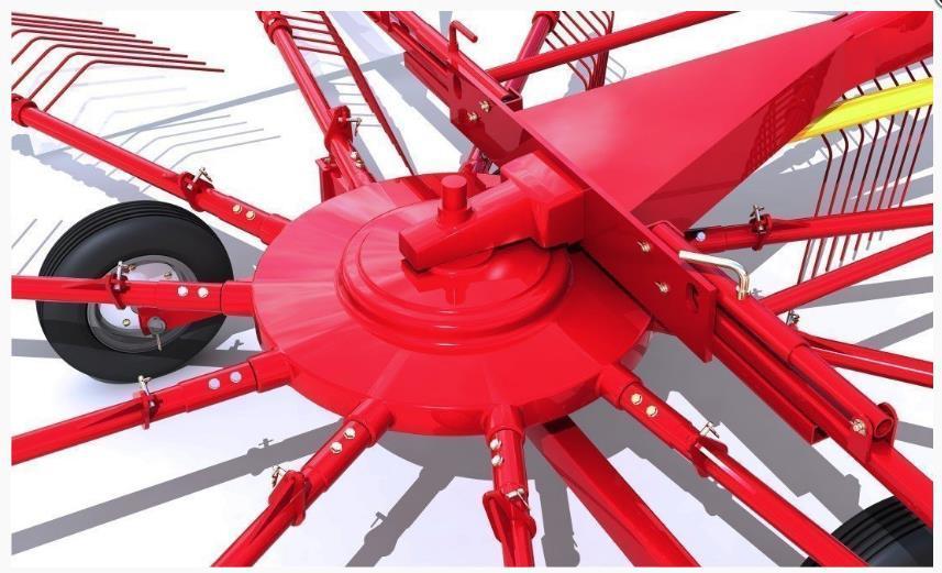 герметичный ротор граблей «Kolibri»