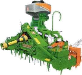 GreenDrill 200-Е с ротационным культиватором
