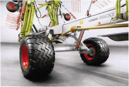 ходовая система с шинами большого размера