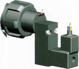 Клапан форсунки с сенсором контроля потока