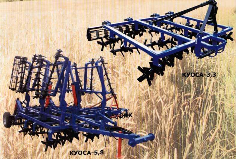 Компоновка агрегатов КУОСА-3,3 и КУОСА-5,8