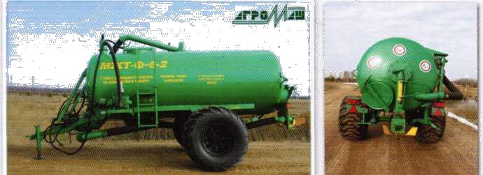 Компоновка машины МЖТ-Ф-6-2