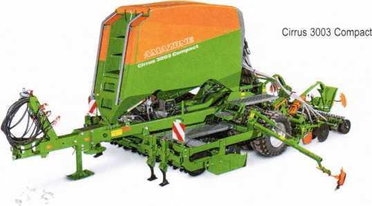 Компоновка посевного агрегата Cirrus 3003 Compact