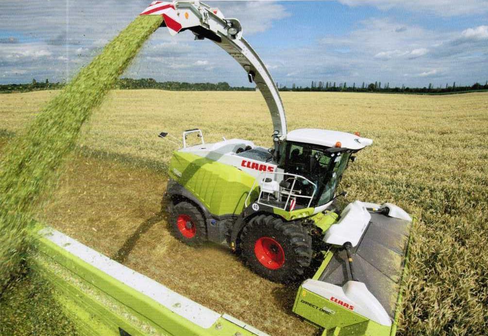 Особенности конструкций машин для заготовки кормов германского производства