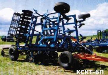 культиватор стерневого для тяжелых почв КСКТ-6П