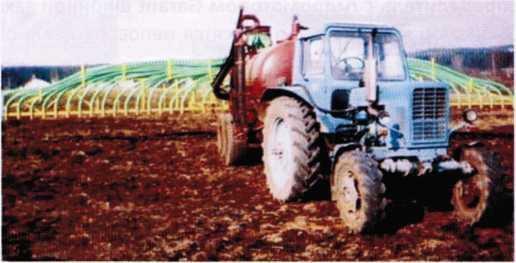 Машина МЖТ-Ф-6Ш для внесения жидких органических удобрений