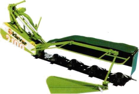Навесная ротационная косилка «Striah» сепии «Klever»