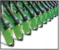 Ножные сошники сеялки 3/410 фирмы UNIA