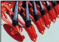 Ножные сошники сеялки FAMAROL