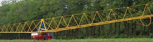Общий вид дождевальной машины ДДА-100ВХ