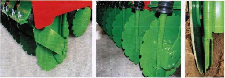 однодисковые сошники сеялки IDEA 3/2200