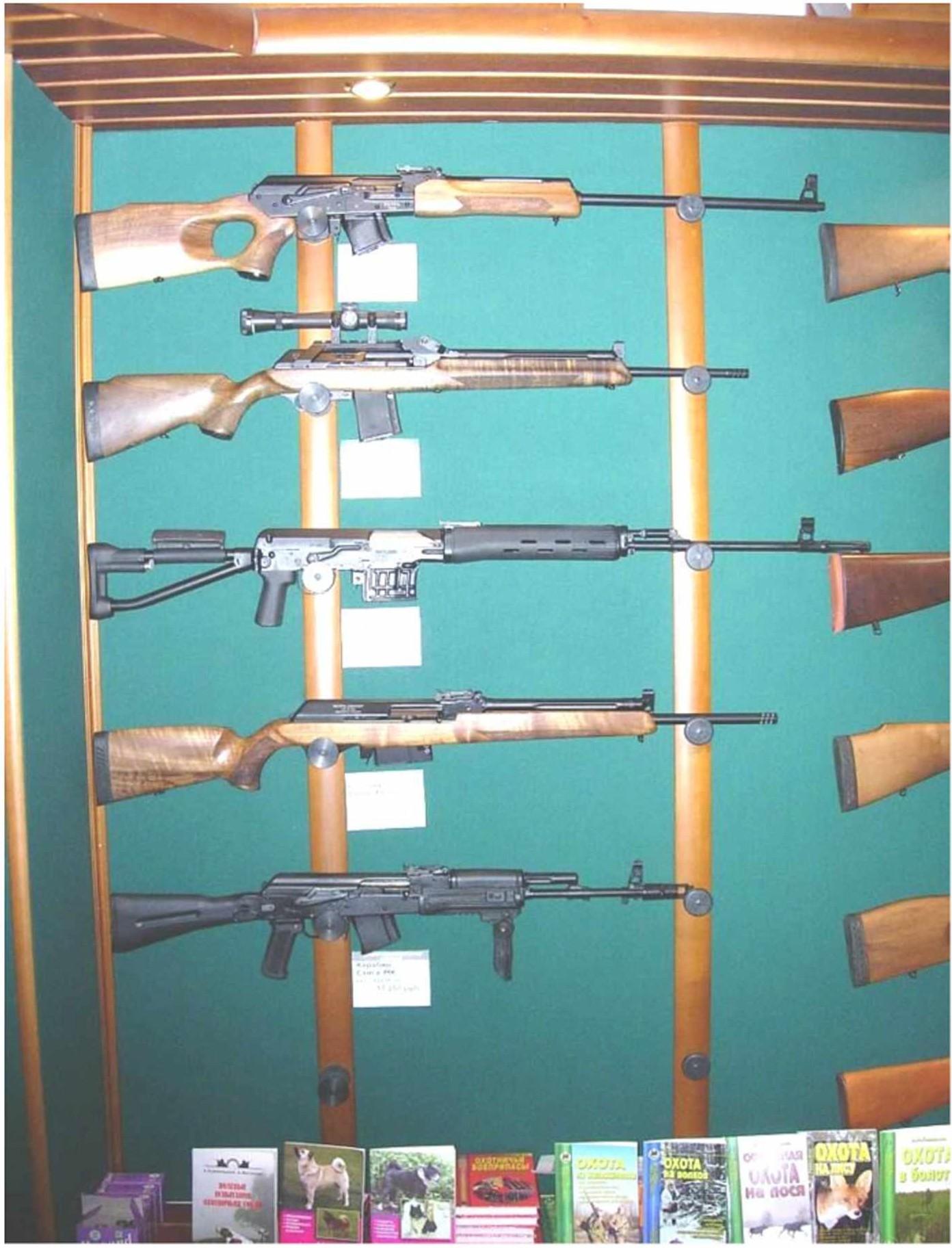 отечественное нарезное оружие, используемое для добывания охотничьих животных