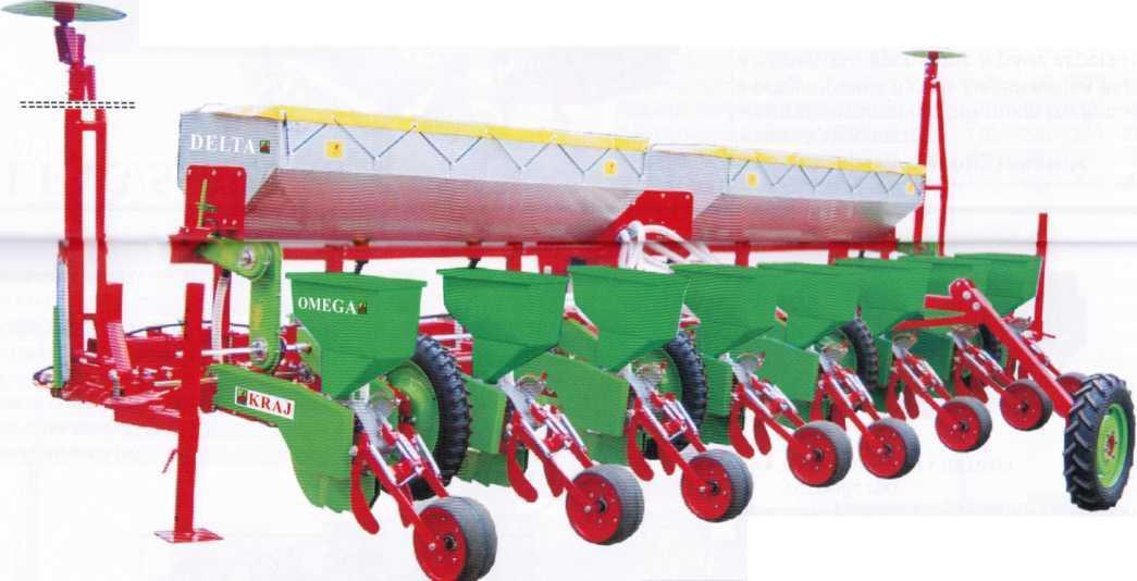 пневматическая сеялка для посева кукурузы OMEGA K