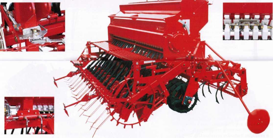 почвообрабатывающе-посевной агрегата PLUS