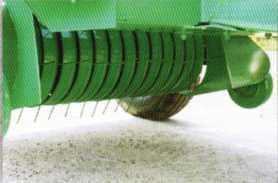 пружинно-пальцевый рабочий орган прессподборщика рулонного ПРФ-145