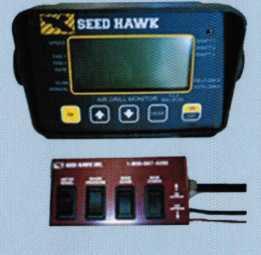 Пульт управления сеялкой Seed Hawk из кабины трактора