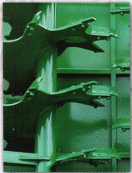 Разбрасывающий рабочий орган машины МТУ-11