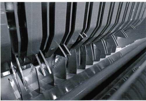 режущая система ROTO GUT с 14 ножами