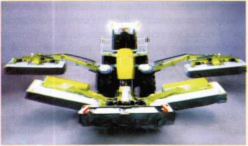 Самоходная косилка «Cougar 1400» фирмы «Claas»