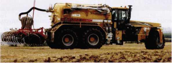Самоходная машина для внесения ЖОУ «Terra-Gator 9205 NMS»
