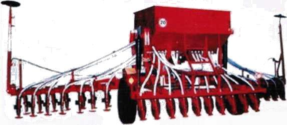 Сеялка С-6ПМ.1 для внесения твердых минеральных удобрений одновременно с посевом