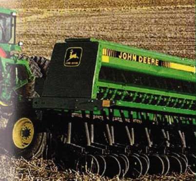 сеялка зерновой модели 455