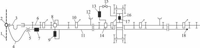 схема дождевателя ДКГ-80 «Ока»