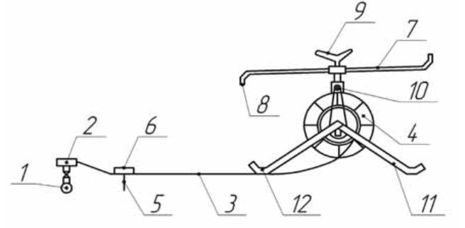Схема дождевателя ДШ-1