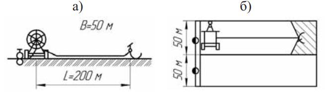 Схема и поливной модуль шлангобарабанного дождевателя «Роса-2»