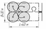 Схема полива переносным шланговым садово-огородным микродождевателем «СОМ-1,3»