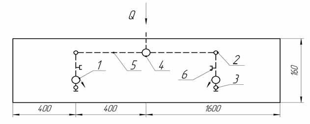 Схема поливного модуля для шлангобарабанного дождевателя ДШ-30