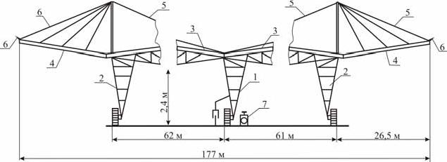 Схема (продольный разрез) ДМ «Мини-Фрегат-ФШ»