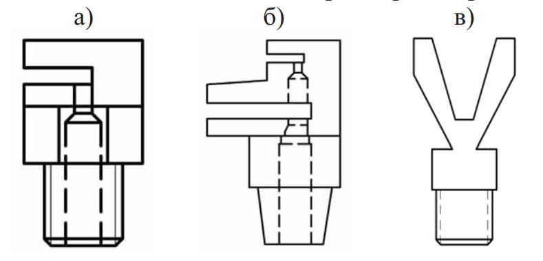 Схемы щелевых насадок для теплиц