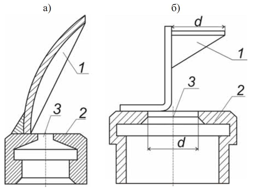 Схемы внекорпусных дефлекторных дождевальных насадок