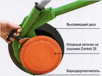 Сошник RoTeC-Control