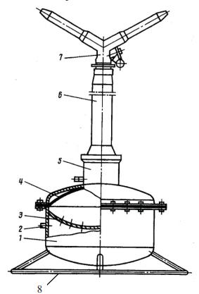 Среднеструйный импульсный дождевальный аппарат ДИ-15