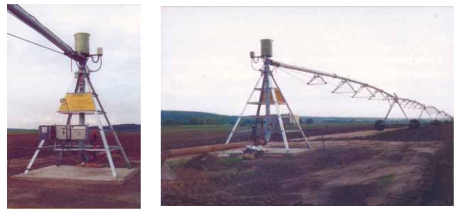 стационарная центральная опора ДМ «Кубань-ЛК»
