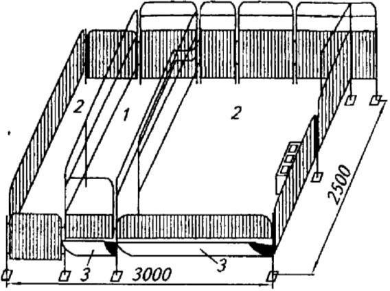Станок СОИЛ-1 для опороса и содержания свиноматок