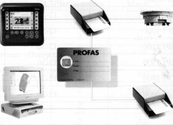Структурная схема системы ProFas фирмы «Vicon»